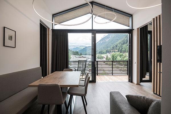 Residence b b fever a ortisei appartamenti vacanze in for Appartamenti moderni immagini